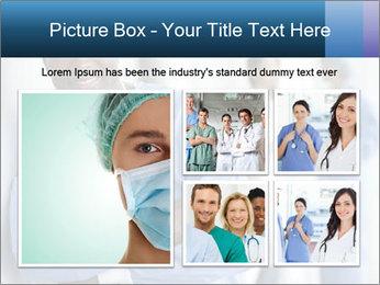 Portrait of a male surgeon, colleagues PowerPoint Templates - Slide 19