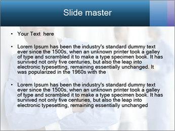 Portrait of a male surgeon, colleagues PowerPoint Templates - Slide 2