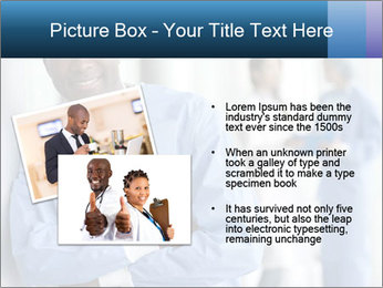 Portrait of a male surgeon, colleagues PowerPoint Template - Slide 20