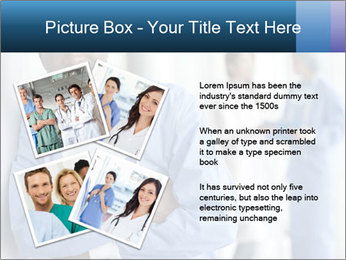 Portrait of a male surgeon, colleagues PowerPoint Template - Slide 23