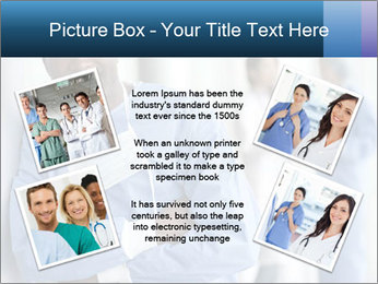 Portrait of a male surgeon, colleagues PowerPoint Template - Slide 24