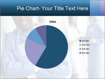 Portrait of a male surgeon, colleagues PowerPoint Template - Slide 36