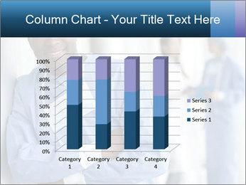 Portrait of a male surgeon, colleagues PowerPoint Templates - Slide 50