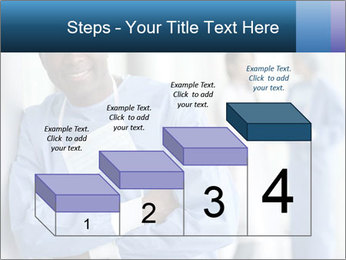 Portrait of a male surgeon, colleagues PowerPoint Templates - Slide 64