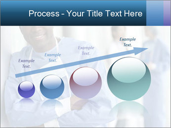 Portrait of a male surgeon, colleagues PowerPoint Template - Slide 87