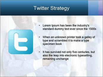 Portrait of a male surgeon, colleagues PowerPoint Templates - Slide 9