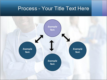 Portrait of a male surgeon, colleagues PowerPoint Template - Slide 91