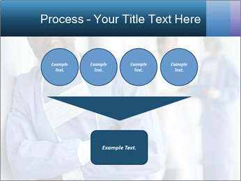 Portrait of a male surgeon, colleagues PowerPoint Template - Slide 93