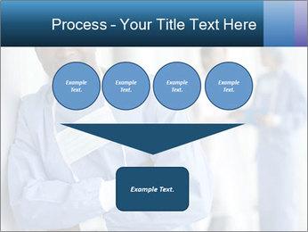 Portrait of a male surgeon, colleagues PowerPoint Templates - Slide 93
