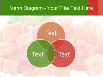 Dried papaya PowerPoint Template - Slide 33
