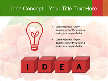Dried papaya PowerPoint Template - Slide 80