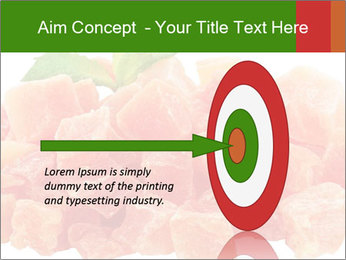 Dried papaya PowerPoint Template - Slide 83