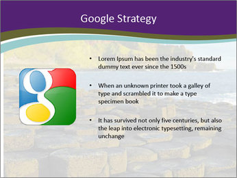 Giant's Causeway,Northern Ireland PowerPoint Templates - Slide 10