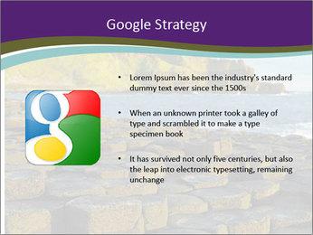 Giant's Causeway,Northern Ireland PowerPoint Template - Slide 10
