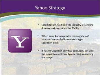 Giant's Causeway,Northern Ireland PowerPoint Template - Slide 11