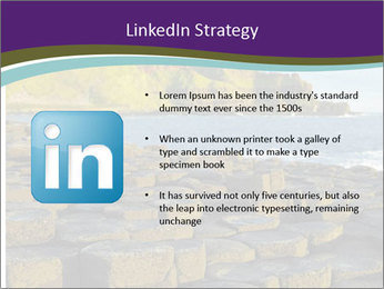 Giant's Causeway,Northern Ireland PowerPoint Template - Slide 12