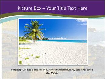Giant's Causeway,Northern Ireland PowerPoint Template - Slide 15