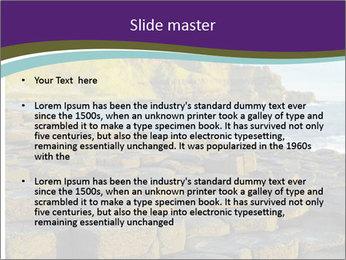 Giant's Causeway,Northern Ireland PowerPoint Template - Slide 2