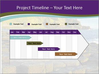Giant's Causeway,Northern Ireland PowerPoint Template - Slide 25