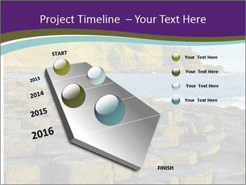 Giant's Causeway,Northern Ireland PowerPoint Template - Slide 26