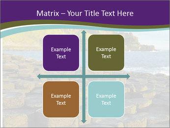 Giant's Causeway,Northern Ireland PowerPoint Template - Slide 37