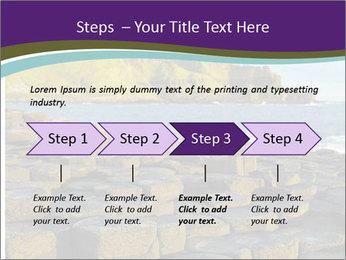 Giant's Causeway,Northern Ireland PowerPoint Template - Slide 4