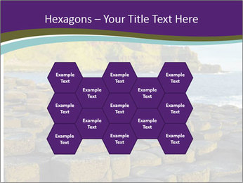 Giant's Causeway,Northern Ireland PowerPoint Template - Slide 44