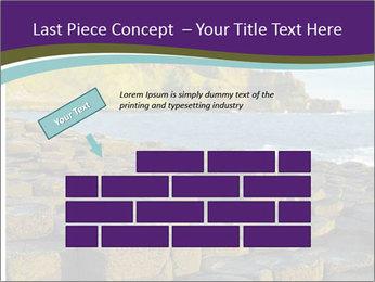 Giant's Causeway,Northern Ireland PowerPoint Template - Slide 46