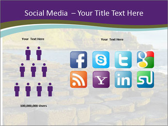 Giant's Causeway,Northern Ireland PowerPoint Template - Slide 5