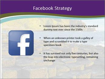 Giant's Causeway,Northern Ireland PowerPoint Template - Slide 6