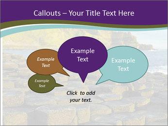 Giant's Causeway,Northern Ireland PowerPoint Template - Slide 73
