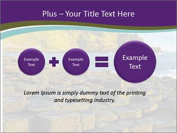 Giant's Causeway,Northern Ireland PowerPoint Template - Slide 75