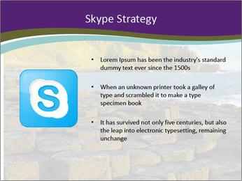 Giant's Causeway,Northern Ireland PowerPoint Template - Slide 8