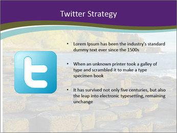 Giant's Causeway,Northern Ireland PowerPoint Template - Slide 9
