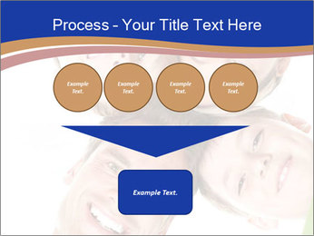 Happy family. Father, mother and children. PowerPoint Template - Slide 93