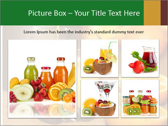 Making orange juice from sliced oranges PowerPoint Templates - Slide 19