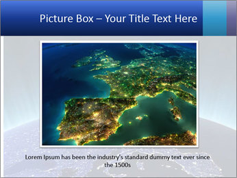 Europe at night. Maps from NASA PowerPoint Templates - Slide 15