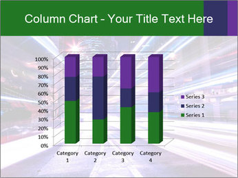 Modern city at night PowerPoint Template - Slide 50