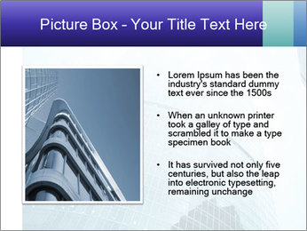 Business skyscrapers of downtown PowerPoint Template - Slide 13