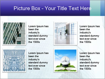 Business skyscrapers of downtown PowerPoint Template - Slide 14