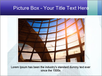 Business skyscrapers of downtown PowerPoint Template - Slide 15