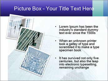 Business skyscrapers of downtown PowerPoint Template - Slide 17