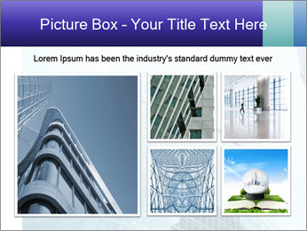 Business skyscrapers of downtown PowerPoint Template - Slide 19