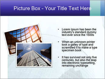 Business skyscrapers of downtown PowerPoint Template - Slide 20