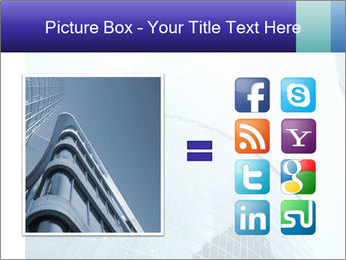 Business skyscrapers of downtown PowerPoint Template - Slide 21