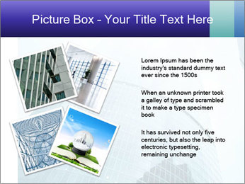 Business skyscrapers of downtown PowerPoint Template - Slide 23