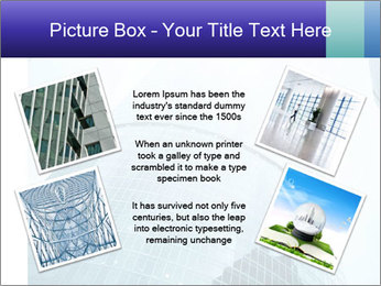 Business skyscrapers of downtown PowerPoint Template - Slide 24