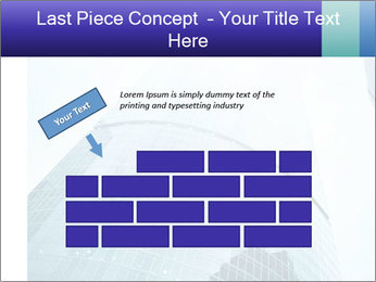 Business skyscrapers of downtown PowerPoint Template - Slide 46