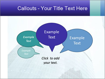 Business skyscrapers of downtown PowerPoint Template - Slide 73