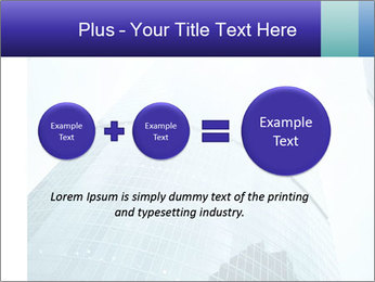 Business skyscrapers of downtown PowerPoint Template - Slide 75